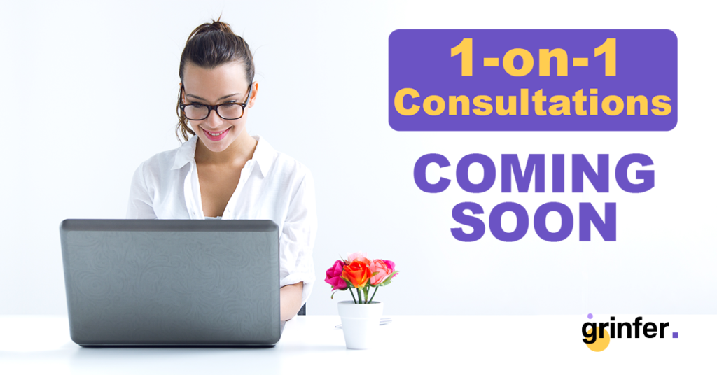 register | 1-on-1 consultations
