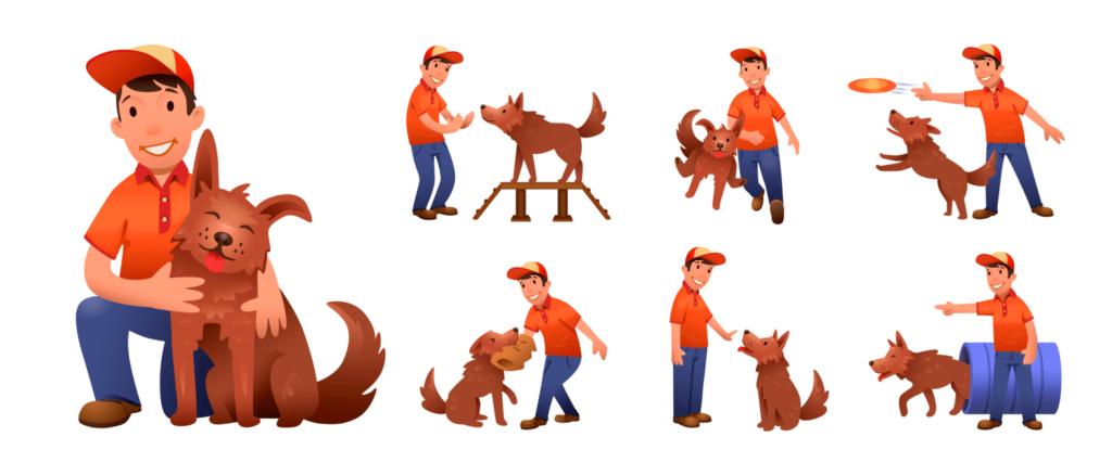 Basic dog training methods - GRINFER