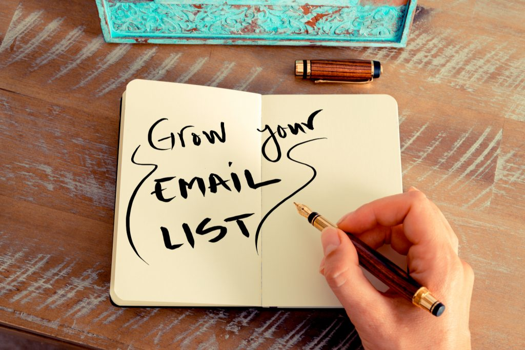 Building good quality email lists - GRINFER www.grinfer.com