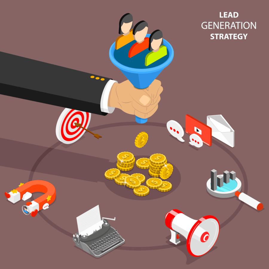 Lead generation strategy - Conversion optimization process - GRINFER