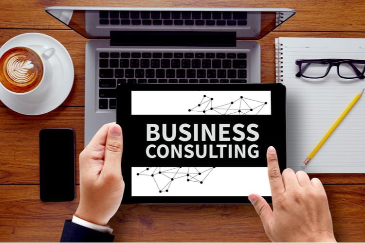 BUSINESS CONSULTING CONCEPT Grinfer