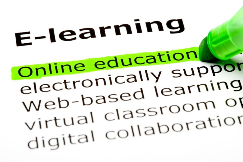 Online education definition