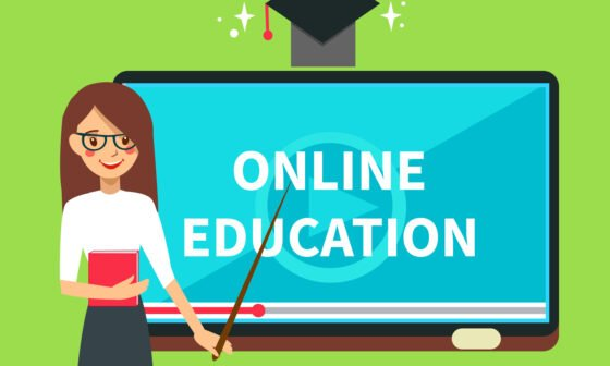 The history of online education Grinfer
