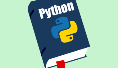 A book on the Python programming language