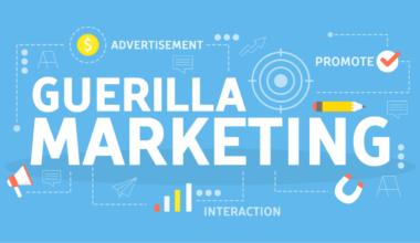 Guerrilla marketing concept