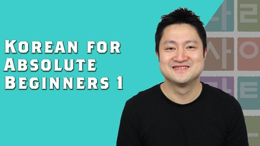 Korean for Absolute Beginners