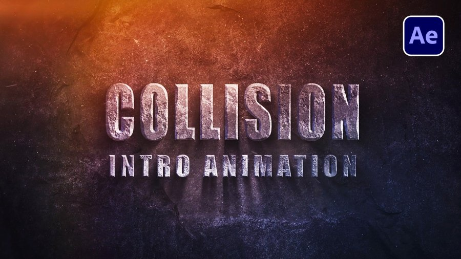 Collision Intro Animation in After Effects