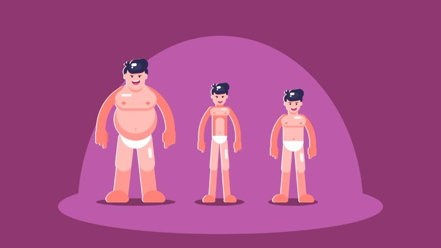 Create Simple Flat Vector Characters