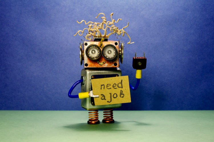Cute Robot looking for a job