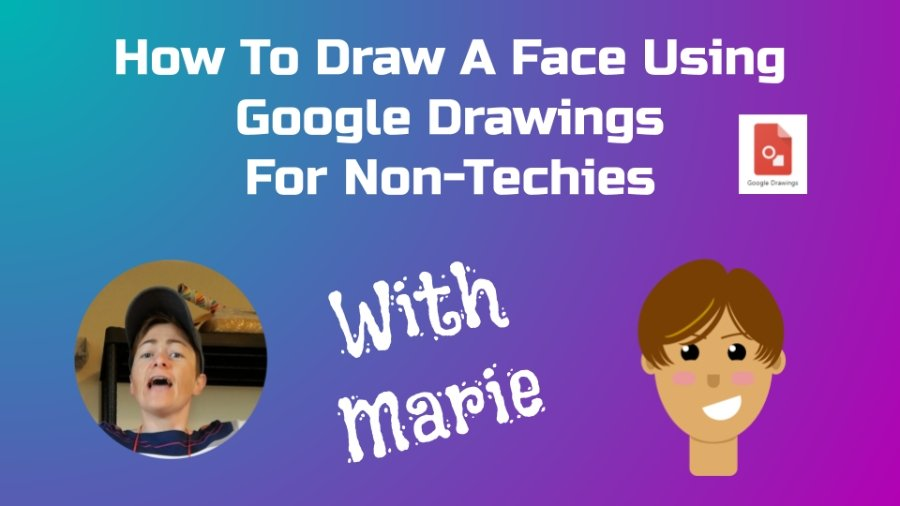 Draw A Face Using Google Drawings